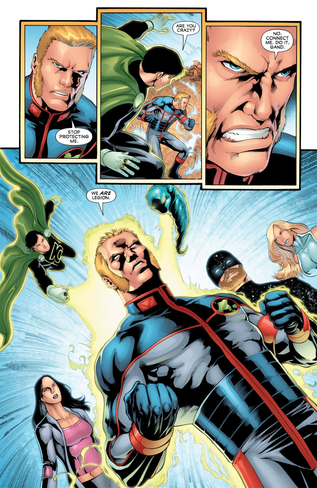 Legion of Super-Heroes (2010) Issue #16 #17 - English 13