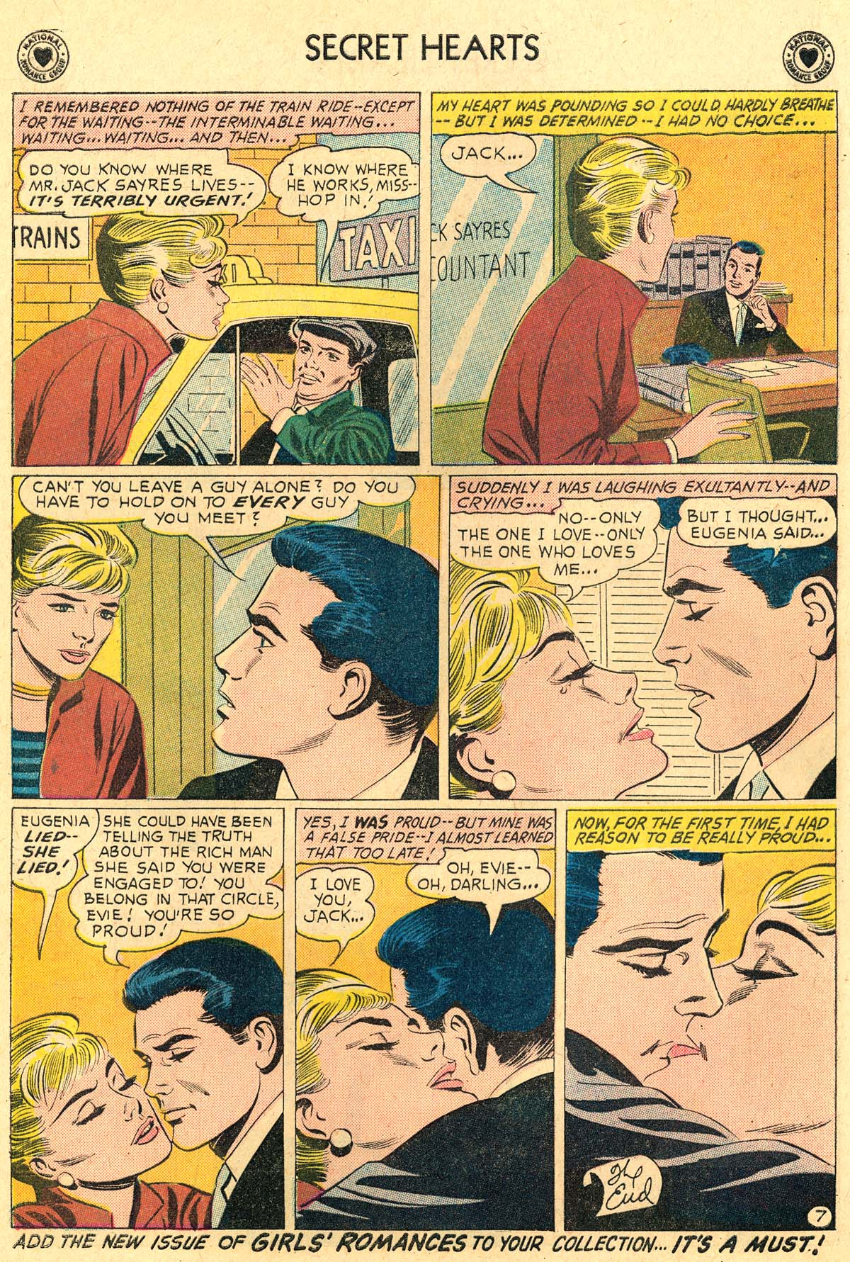 Read online Secret Hearts comic -  Issue #69 - 26