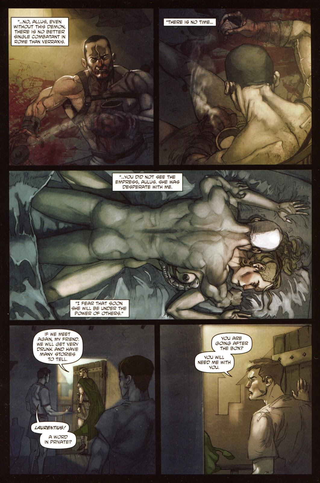 Caligula: Heart of Rome Issue #5 #5 - English 21