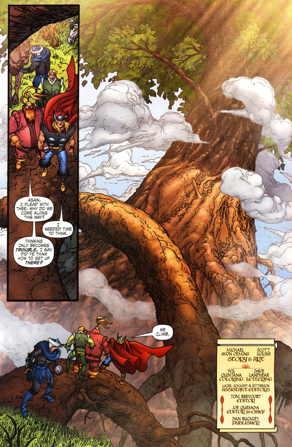 Read online Thor: Blood Oath comic -  Issue #2 - 4