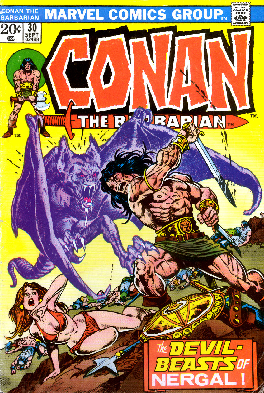 Conan the Barbarian (1970) Issue #30 #42 - English 1
