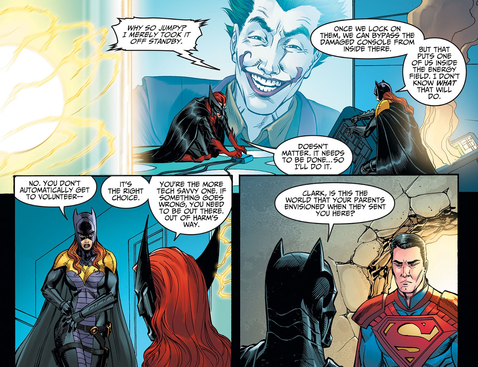 Injustice: Gods Among Us: Year Five Issue #40 #41 - English 12
