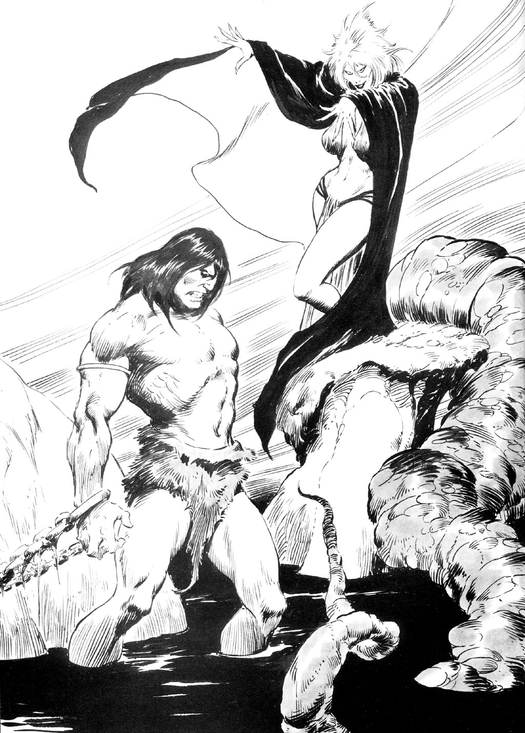 The Savage Sword Of Conan Issue #87 #88 - English 2