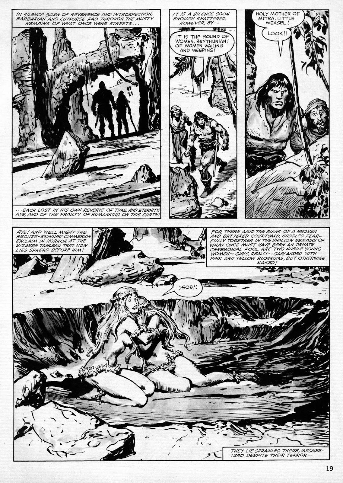 The Savage Sword Of Conan Issue #77 #78 - English 19