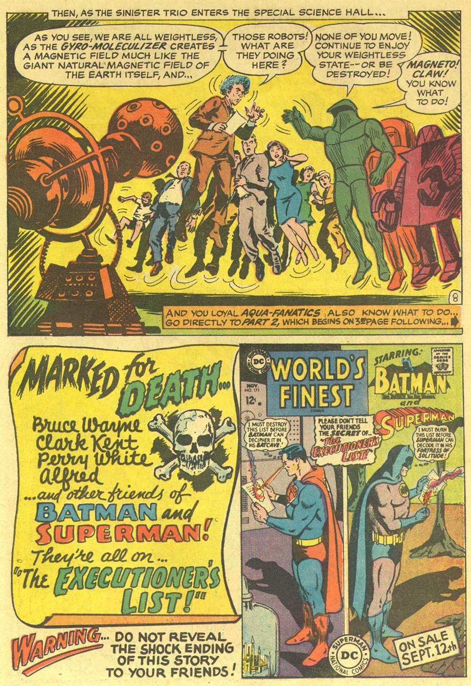 Aquaman (1962) Issue #36 #36 - English 11