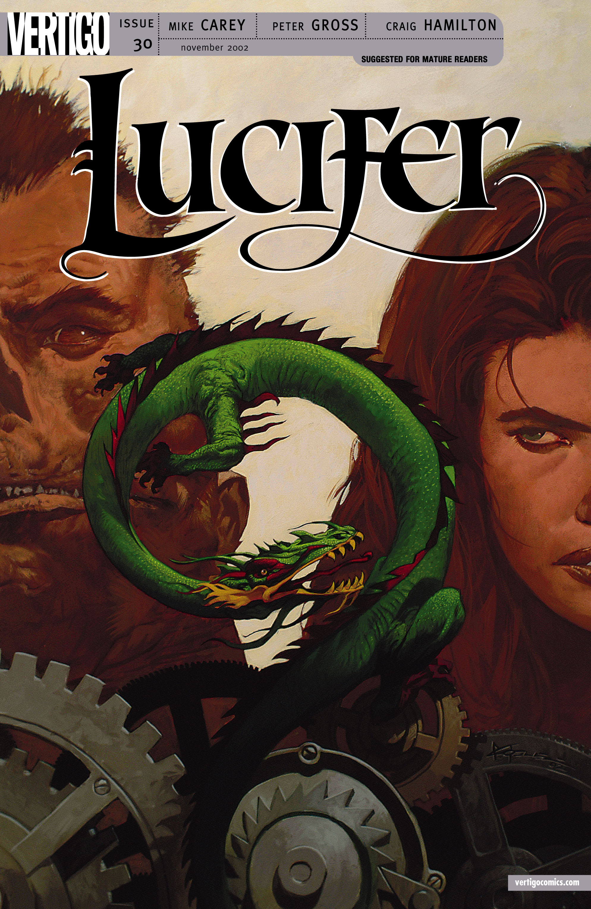 Lucifer (2000) issue 30 - Page 1