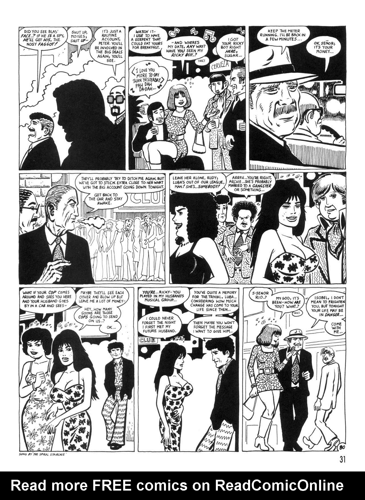 Love and Rockets (1982) #35 #35 - English 33