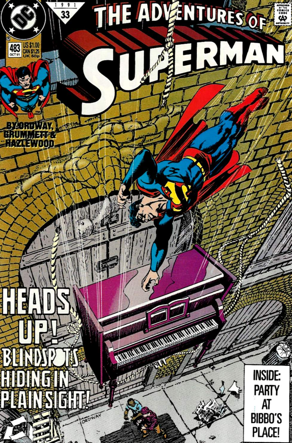 Adventures of Superman (1987) 483 Page 1