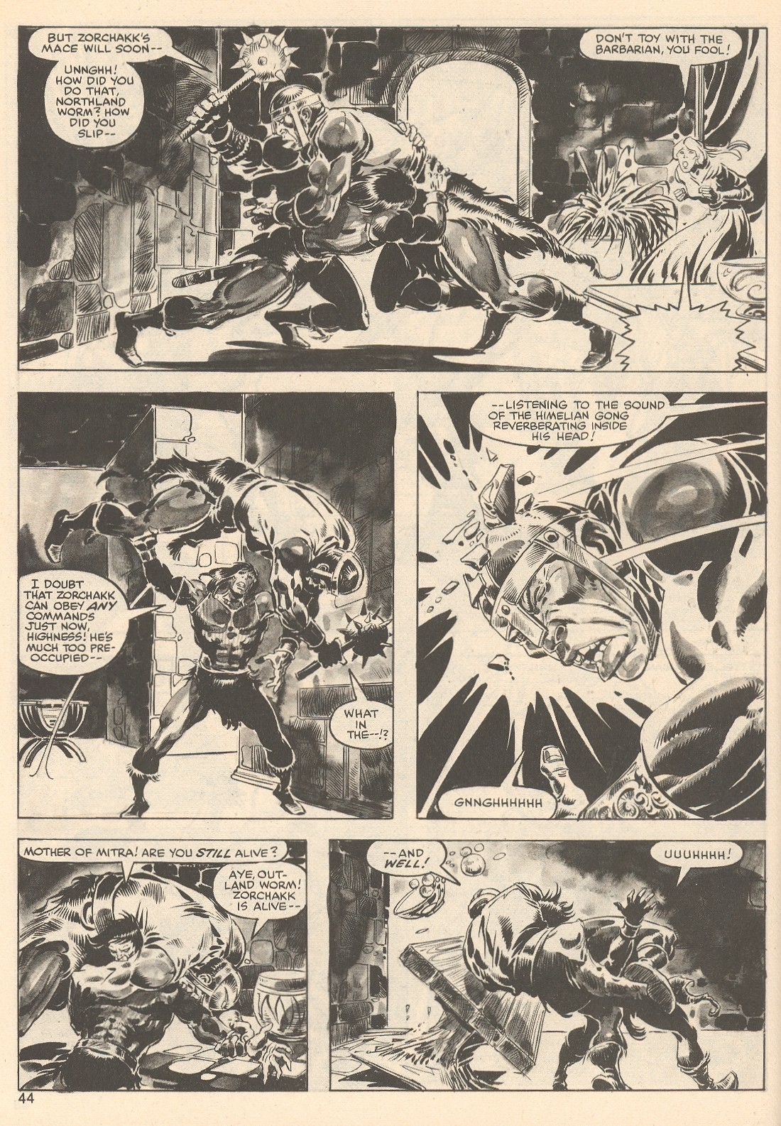 The Savage Sword Of Conan Issue #76 #77 - English 44