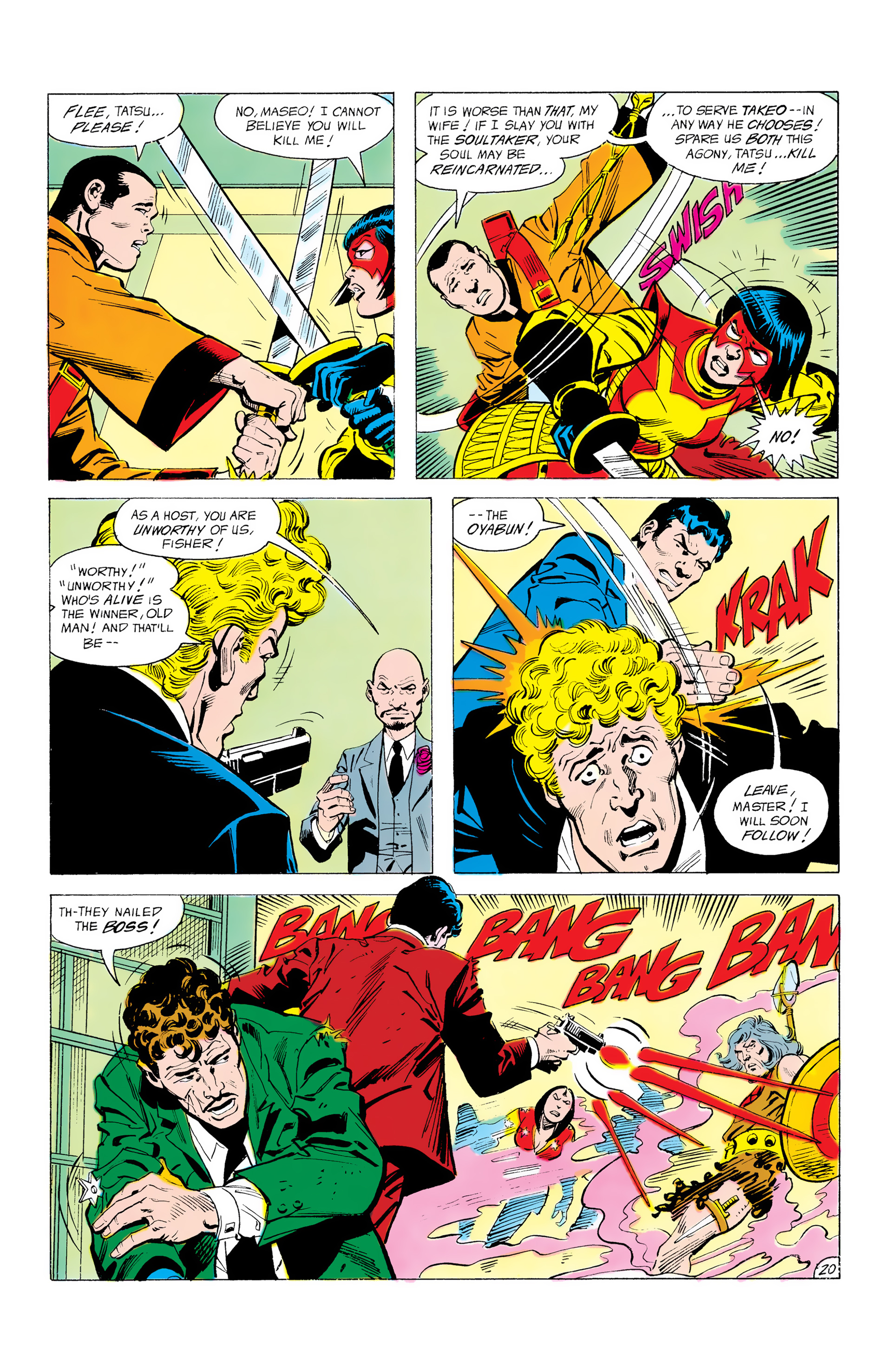 Batman and the Outsiders (1983) 12 Page 20