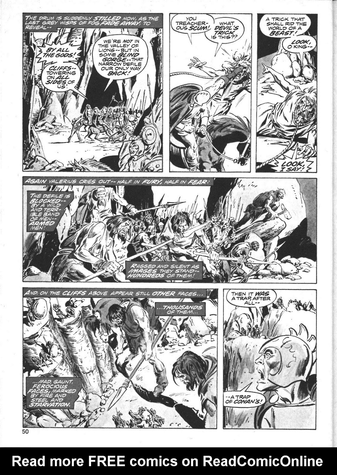 The Savage Sword Of Conan Issue #10 #11 - English 39