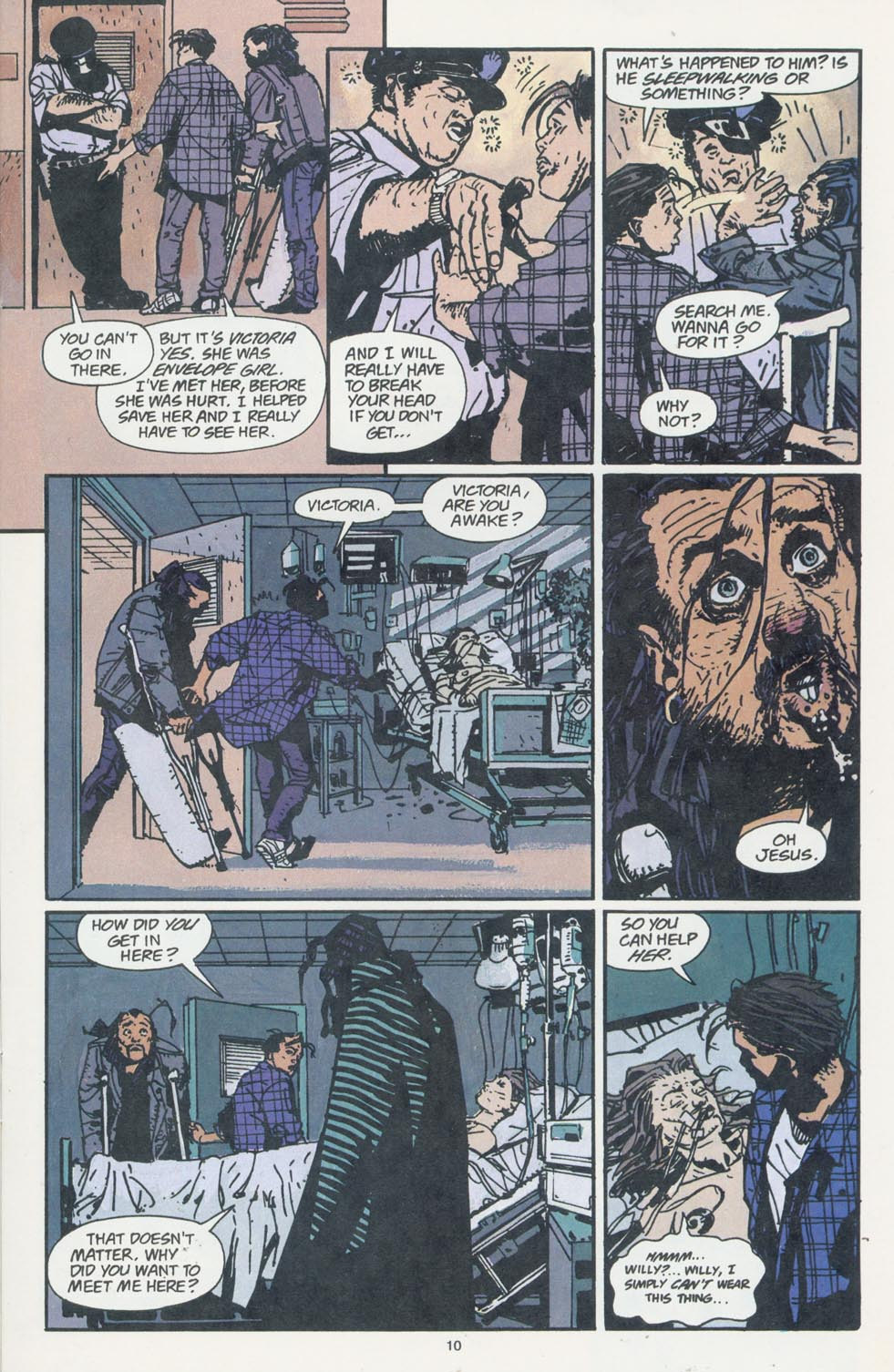 Read online Enigma comic -  Issue #7 - 12