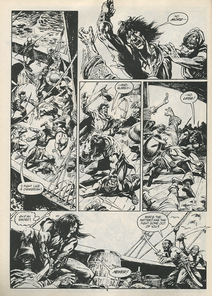 The Savage Sword Of Conan Issue #189 #190 - English 10