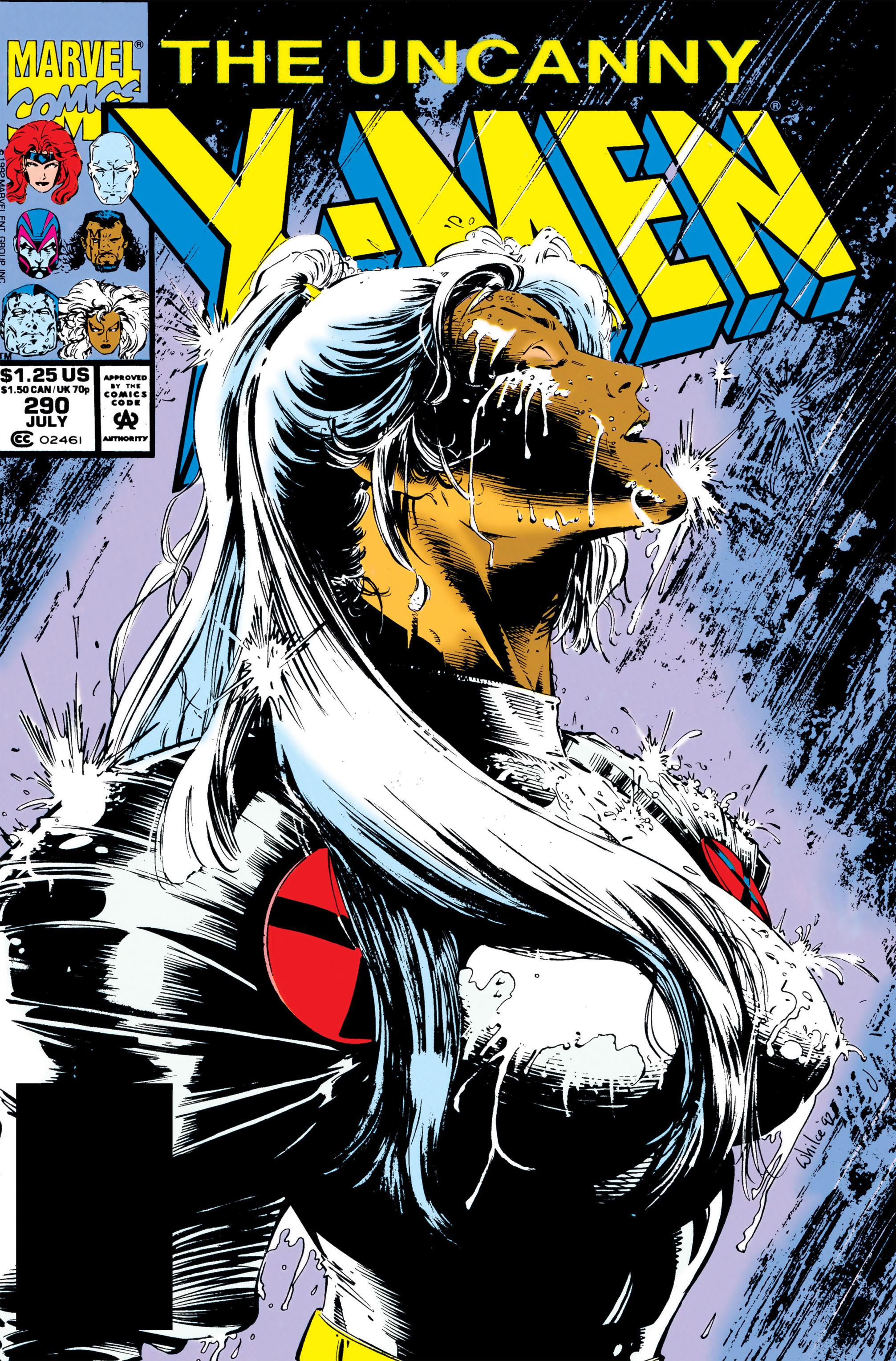 Uncanny X-Men (1963) 290 Page 1