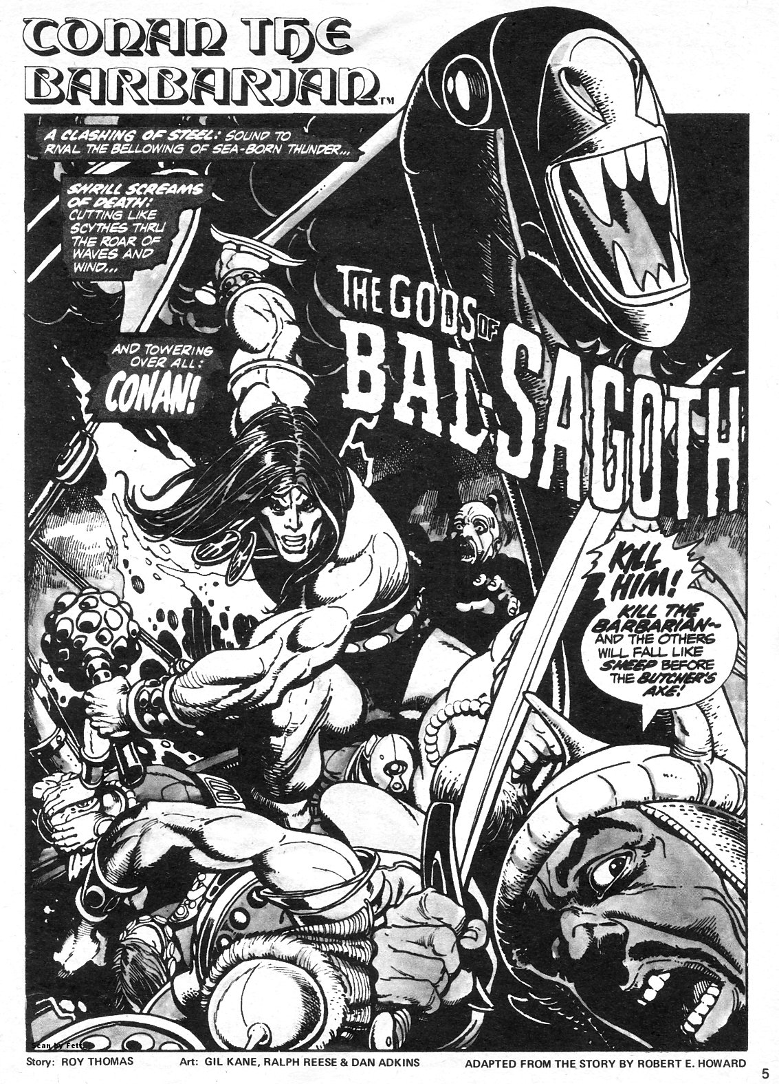 The Savage Sword Of Conan Issue #13 #14 - English 5