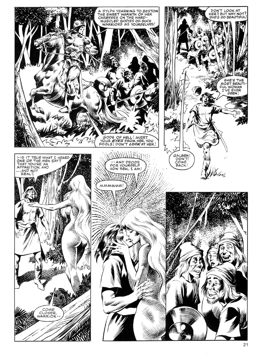 The Savage Sword Of Conan Issue #91 #92 - English 20
