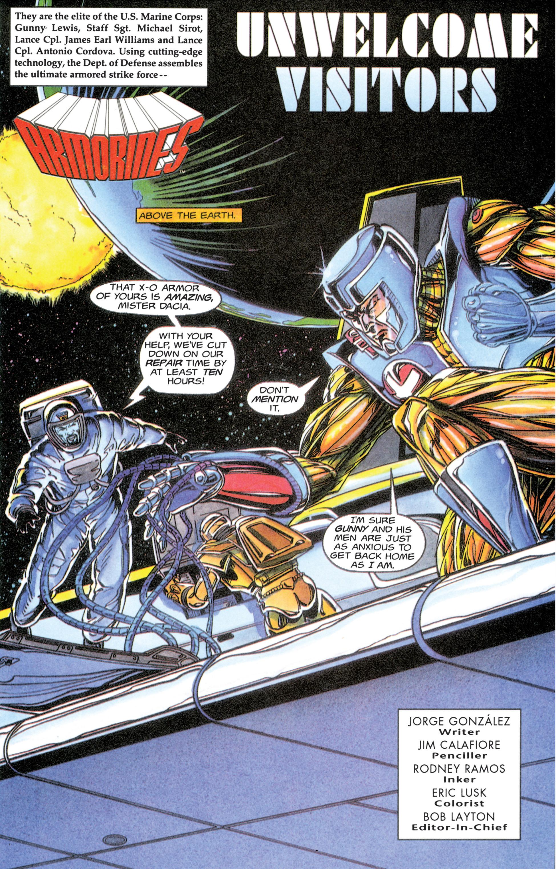 Armorines (1994) 6 Page 3
