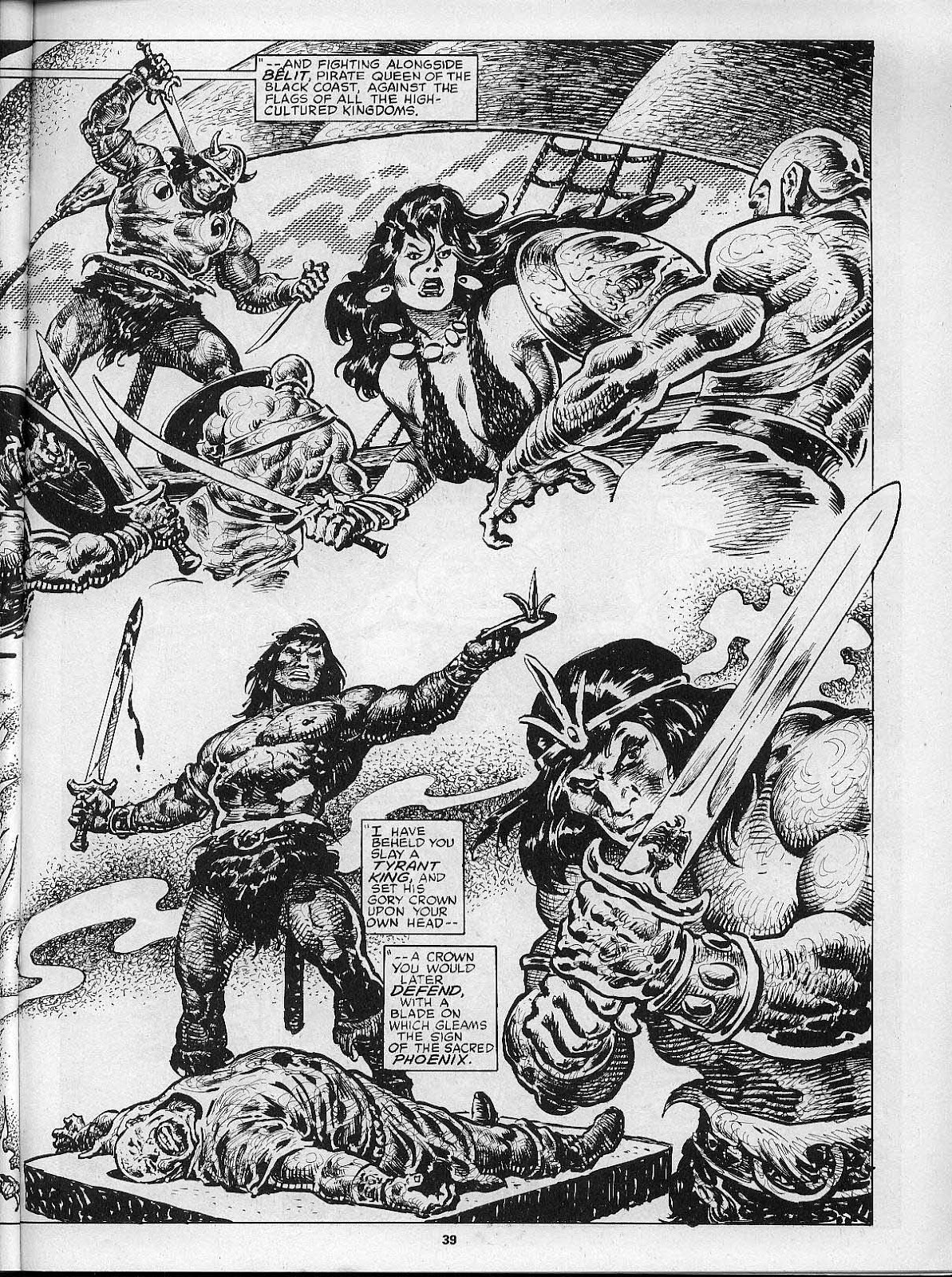 The Savage Sword Of Conan Issue #200 #201 - English 41