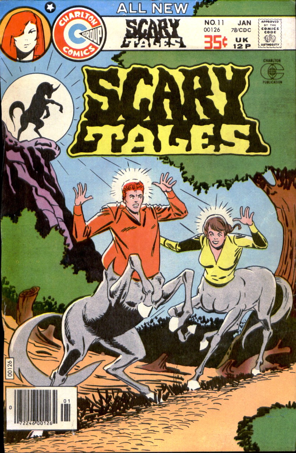 Read online Scary Tales comic -  Issue #11 - 1