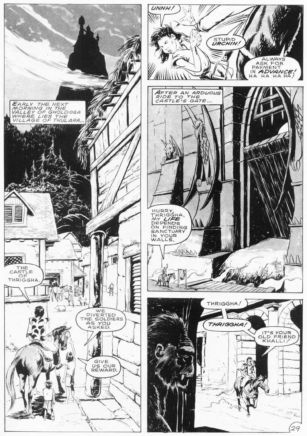The Savage Sword Of Conan Issue #154 #155 - English 31