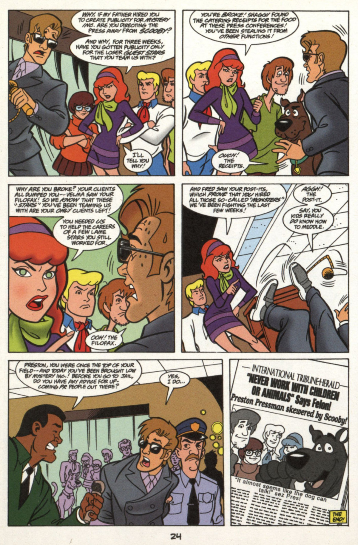 Read online Scooby-Doo (1997) comic -  Issue #16 - 23