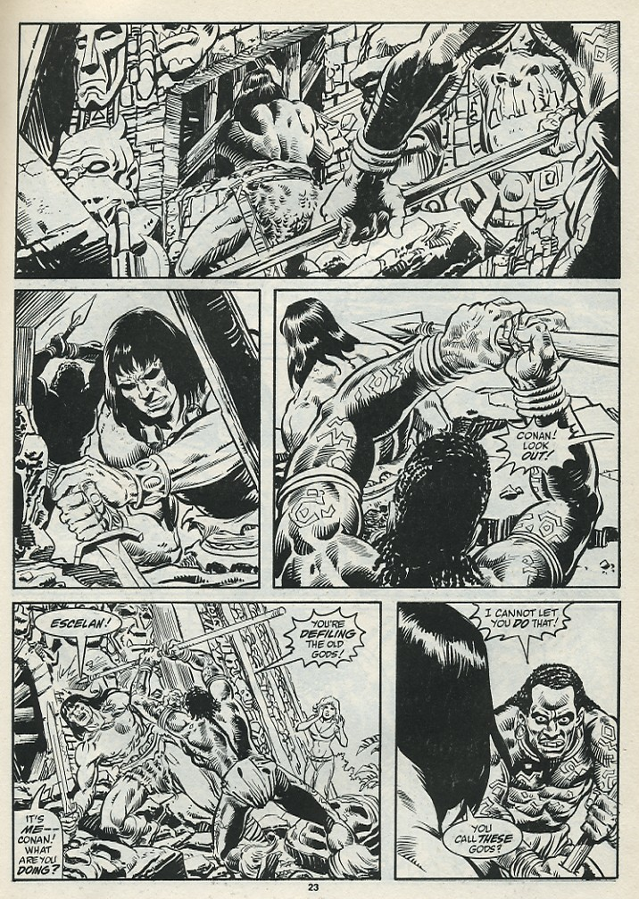 The Savage Sword Of Conan Issue #182 #183 - English 25