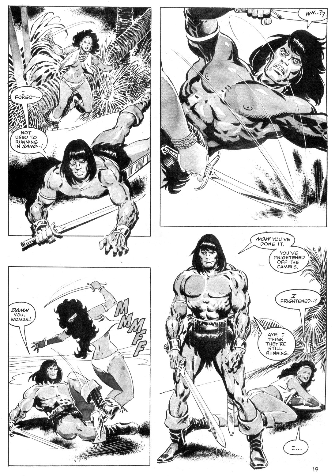 The Savage Sword Of Conan Issue #55 #56 - English 19