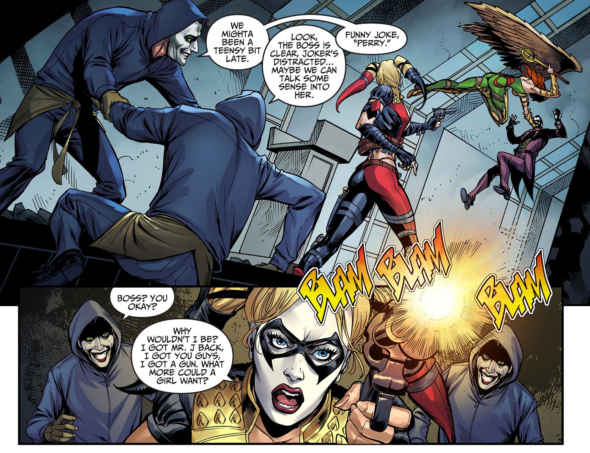 Read online Injustice: Ground Zero comic -  Issue #6 - 6