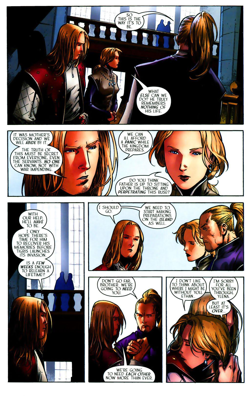 Read online Scion comic -  Issue #38 - 22
