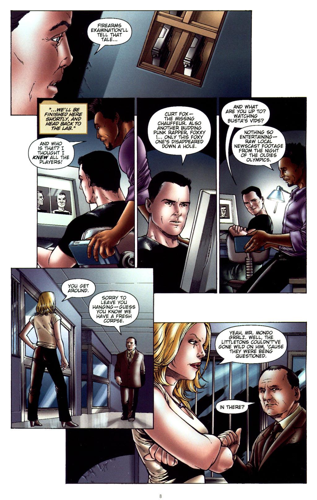 Read online CSI: Crime Scene Investigation: Bad Rap comic -  Issue #5 - 11
