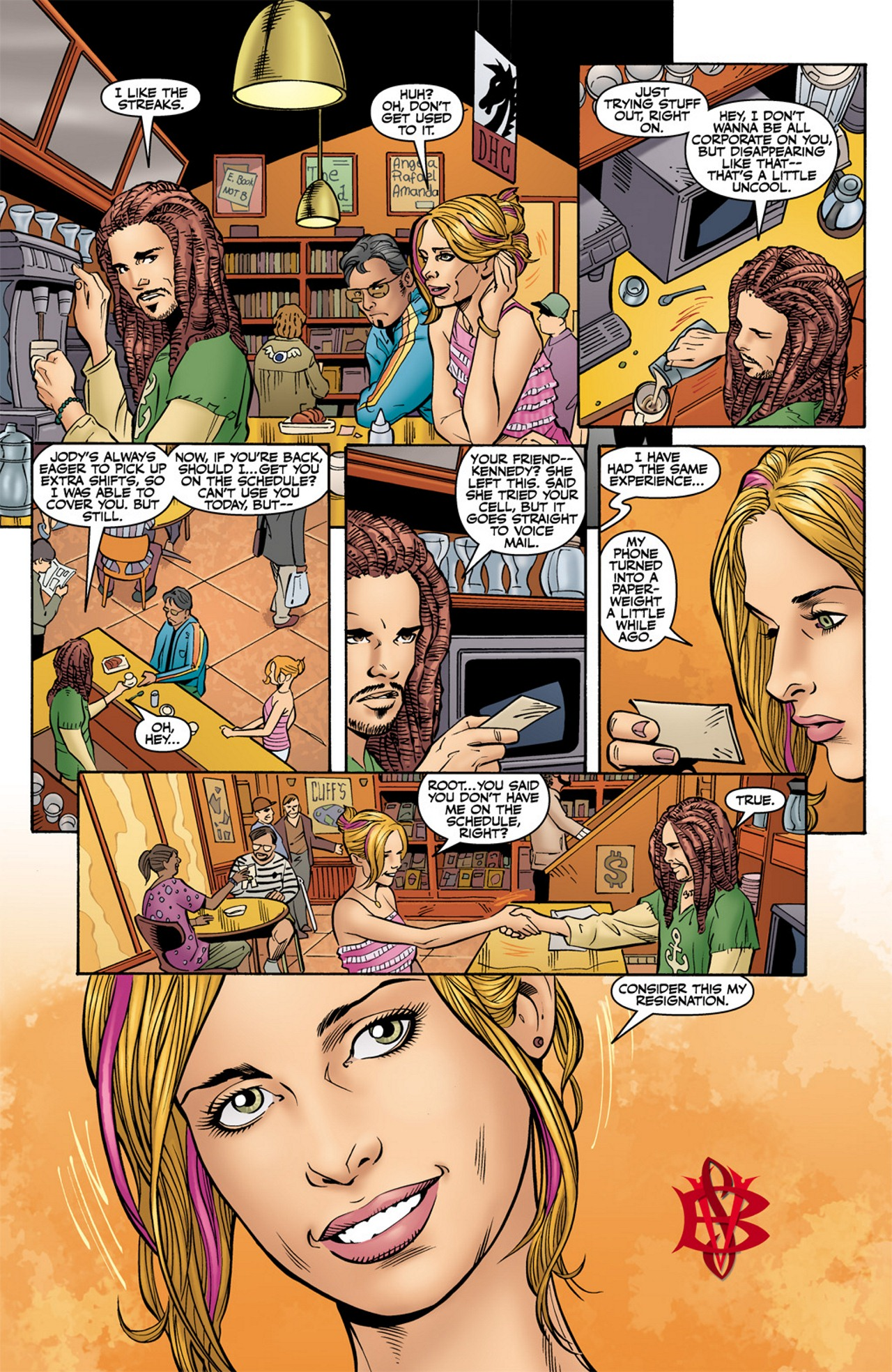 Read online Buffy the Vampire Slayer Season Nine comic -  Issue #10 - 24
