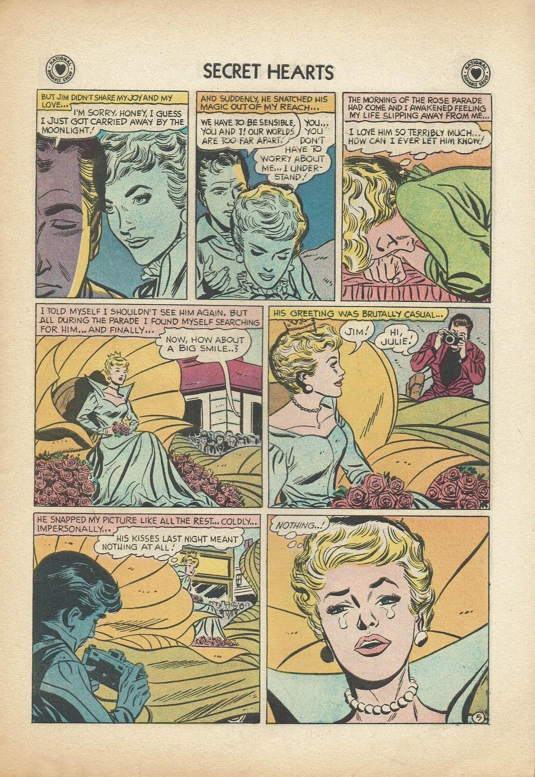 Read online Secret Hearts comic -  Issue #47 - 7