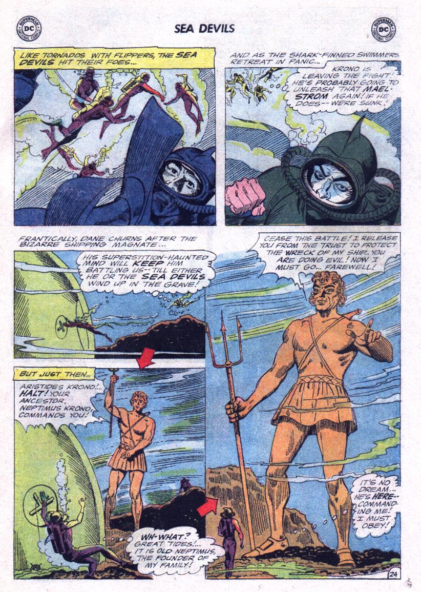Read online Sea Devils comic -  Issue #23 - 31