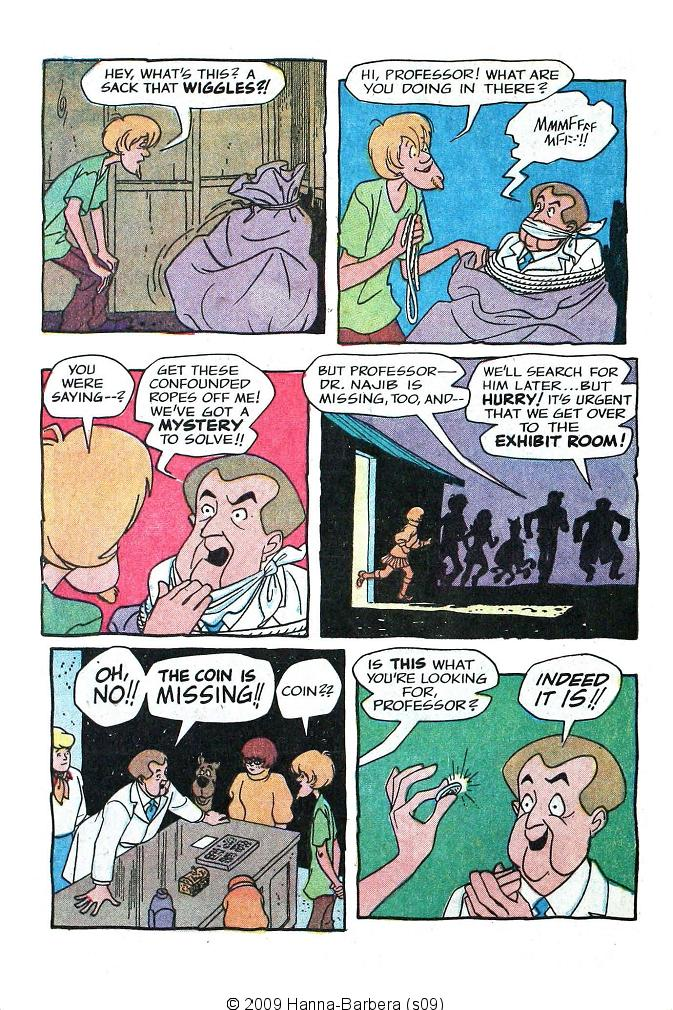 Read online Scooby-Doo... Where Are You! (1970) comic -  Issue #7 - 28