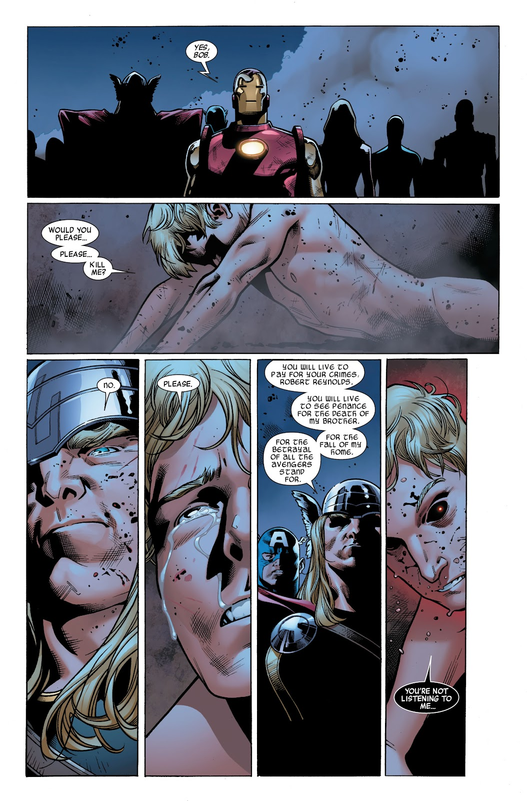 Siege (2010) Issue #4 #4 - English 17