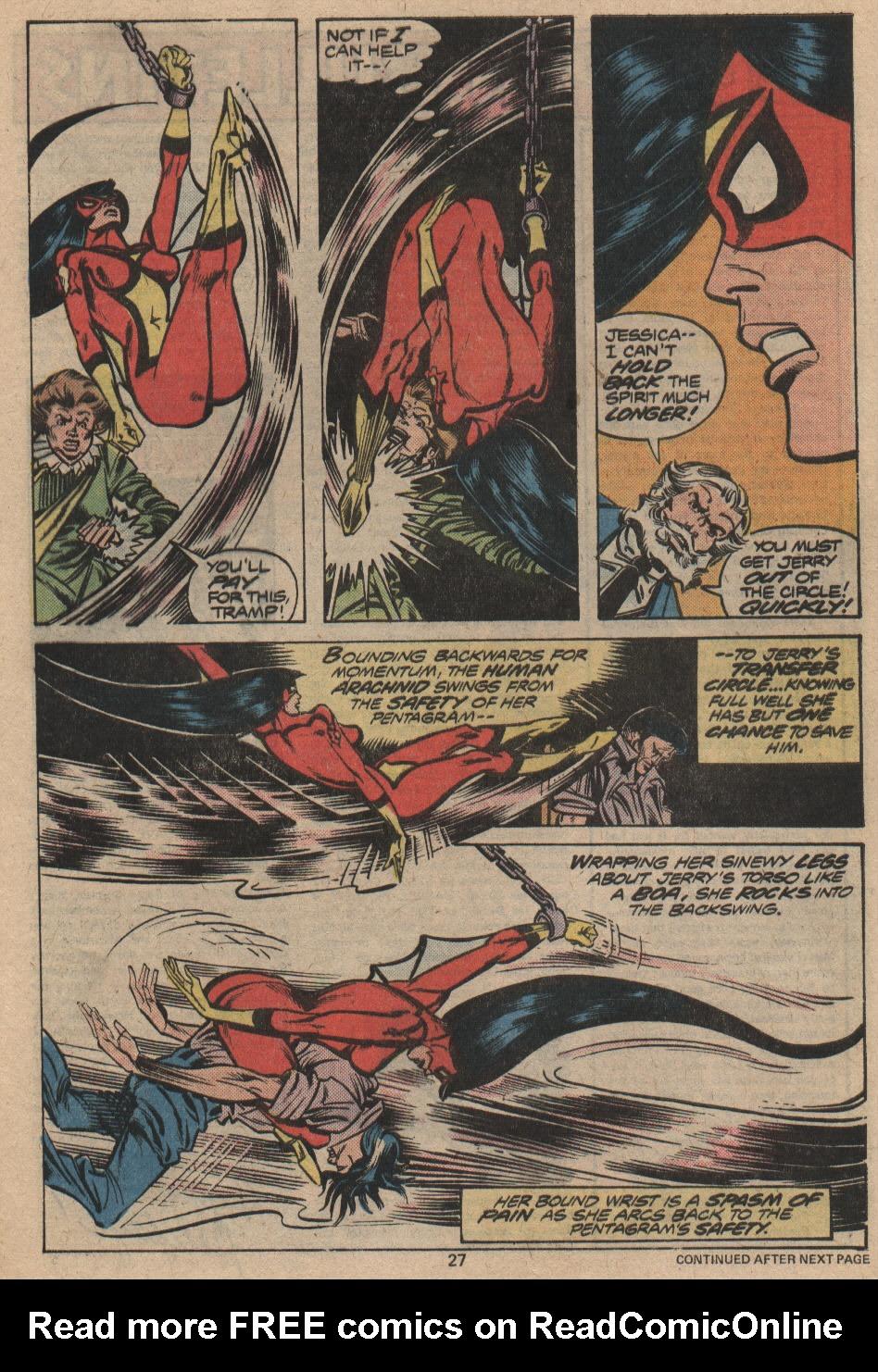Spider-Woman (1978) #12 #39 - English 17