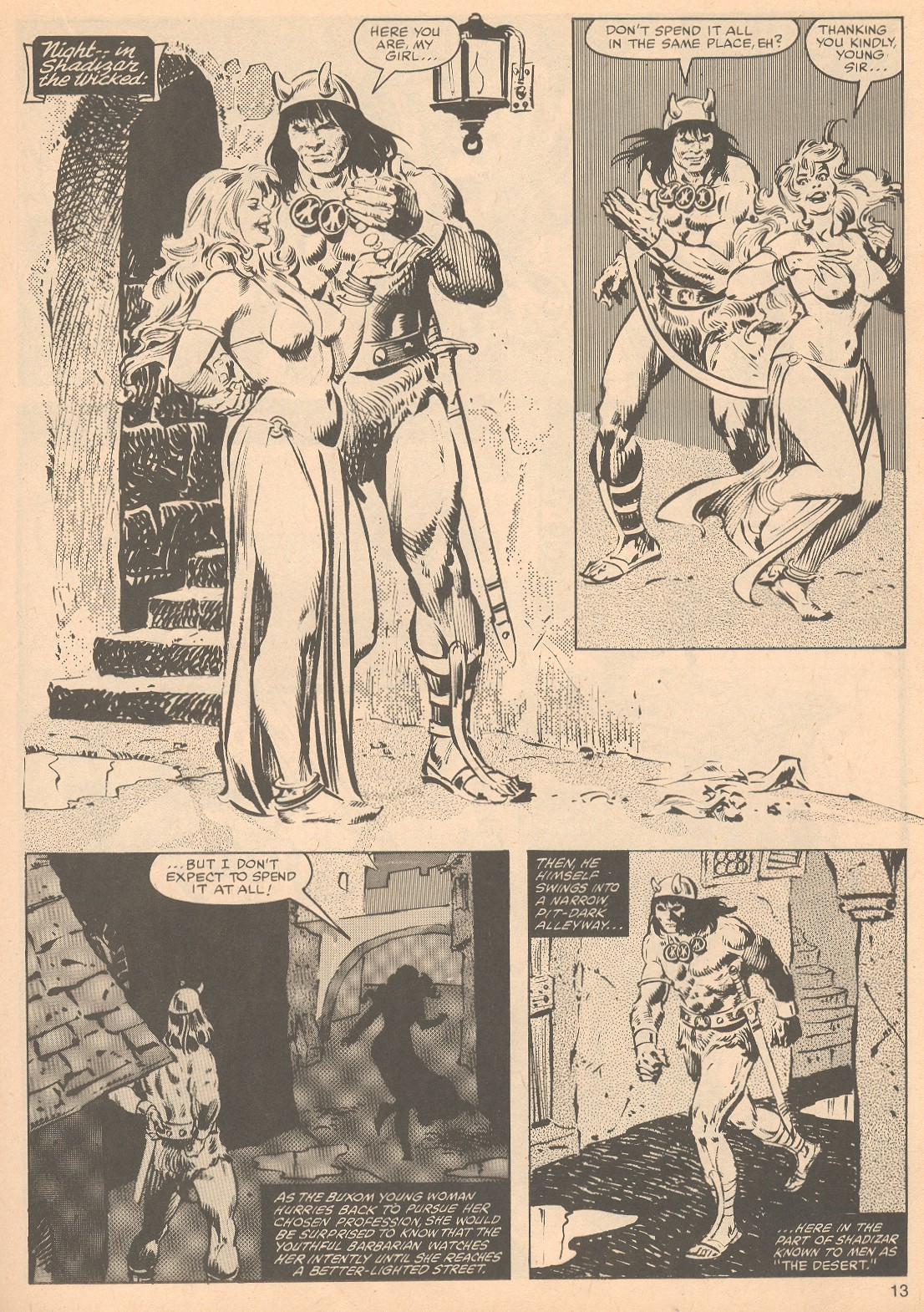 The Savage Sword Of Conan Issue #56 #57 - English 13