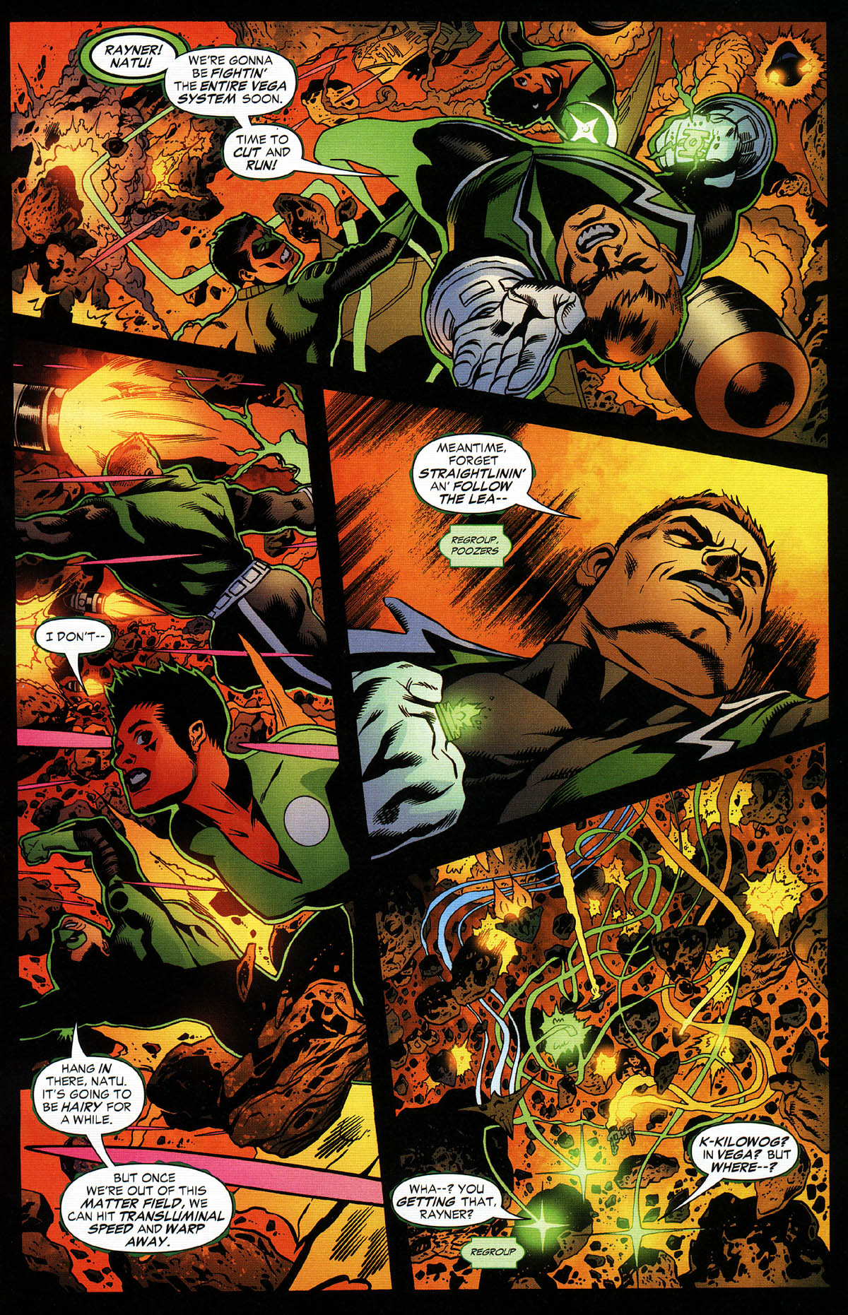 Read online Green Lantern Corps: Recharge comic -  Issue #3 - 20