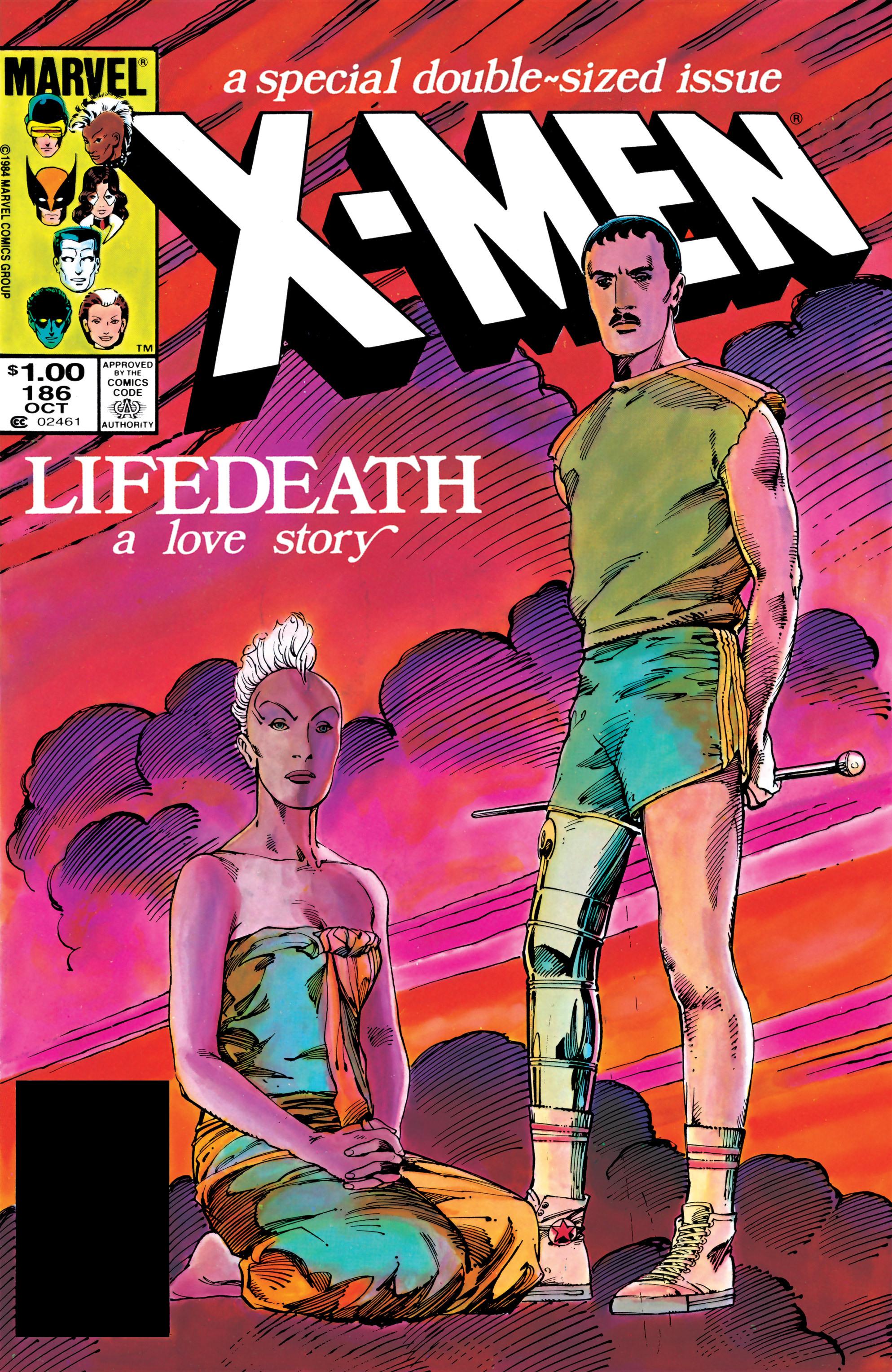 Uncanny X-Men (1963) 186 Page 1