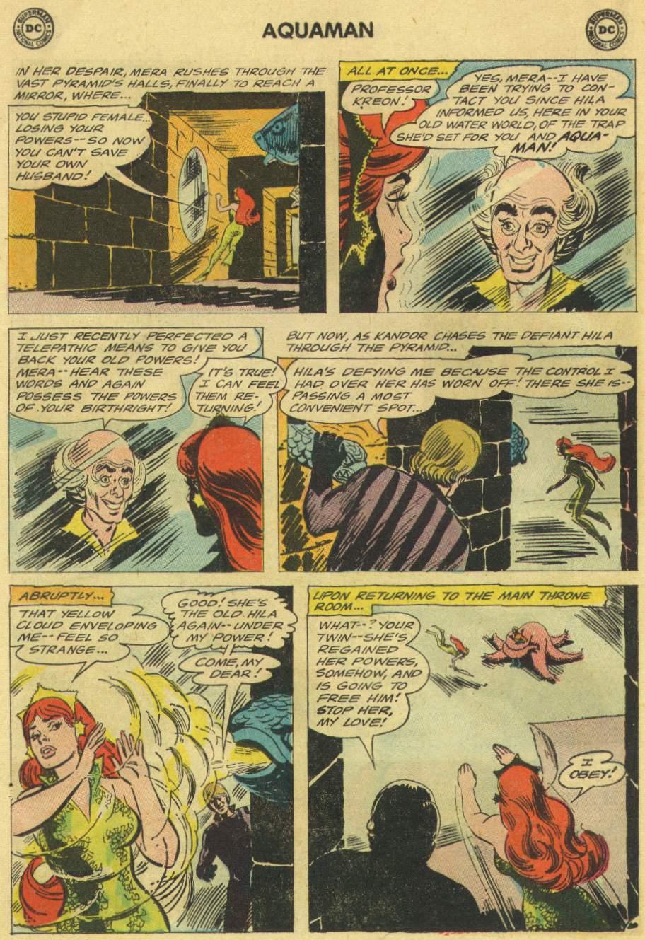 Read online Aquaman (1962) comic -  Issue #22 - 26