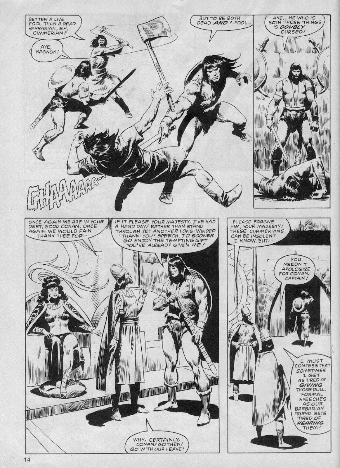 The Savage Sword Of Conan Issue #61 #62 - English 14
