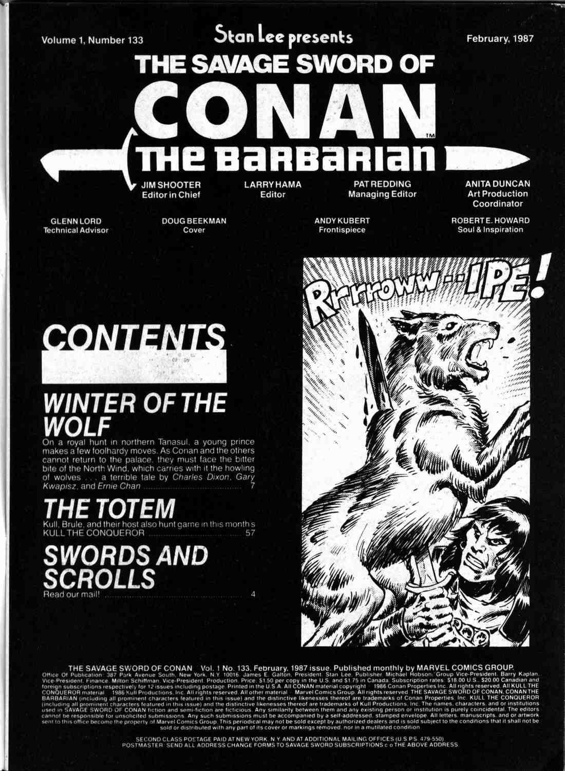 The Savage Sword Of Conan Issue #133 #134 - English 2