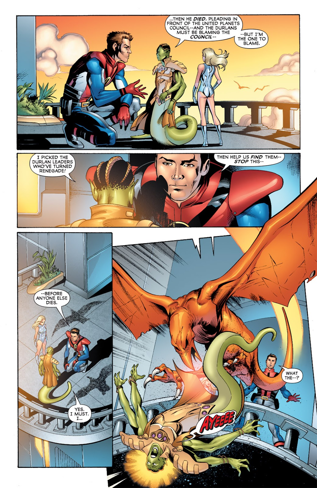 Legion of Super-Heroes (2010) Issue #8 #9 - English 4
