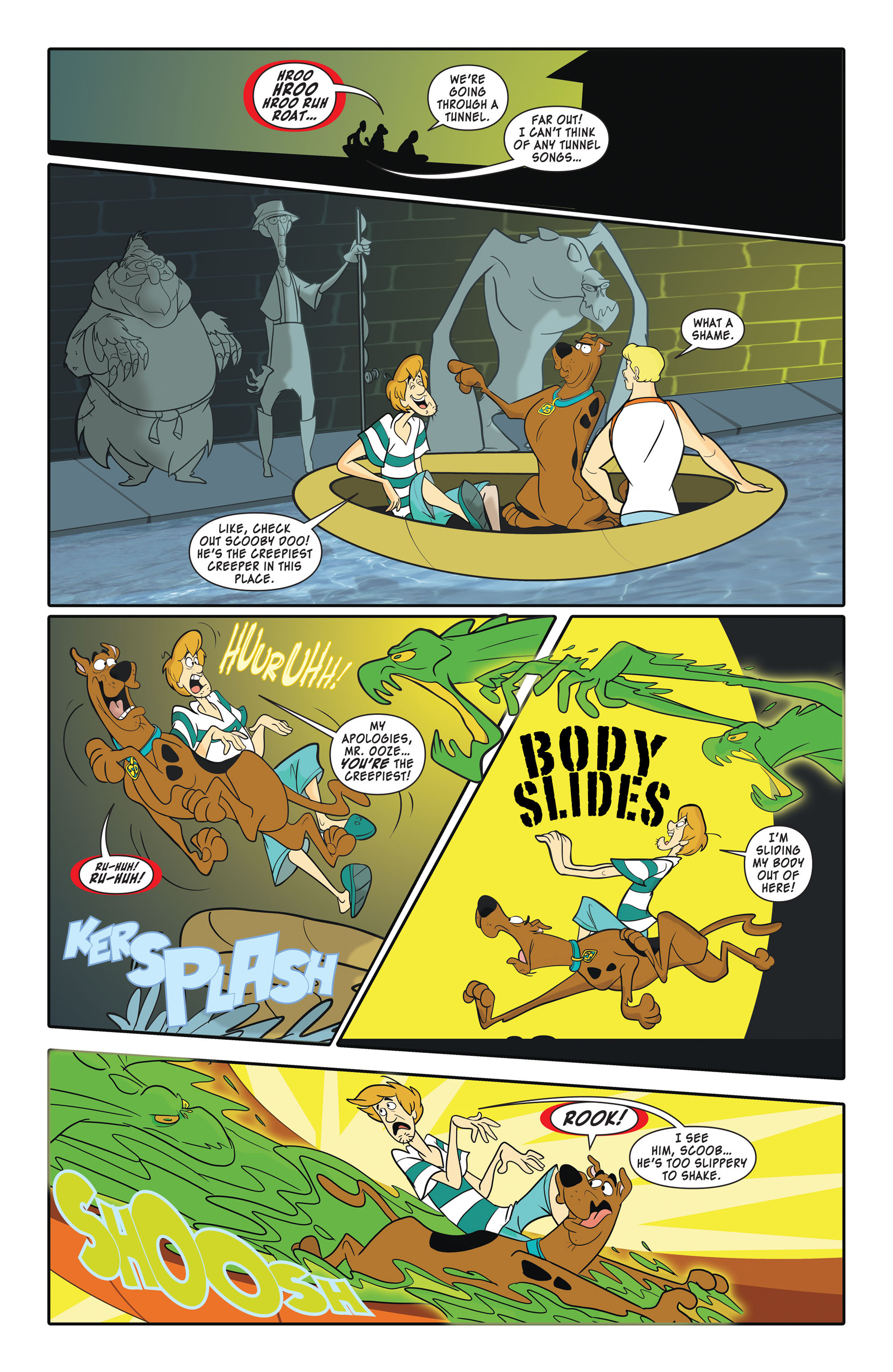 Read online Scooby-Doo: Where Are You? comic -  Issue #45 - 7
