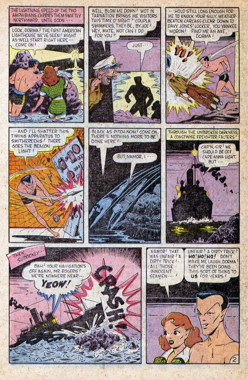 Sub-Mariner Comics #32 #32 - English 22
