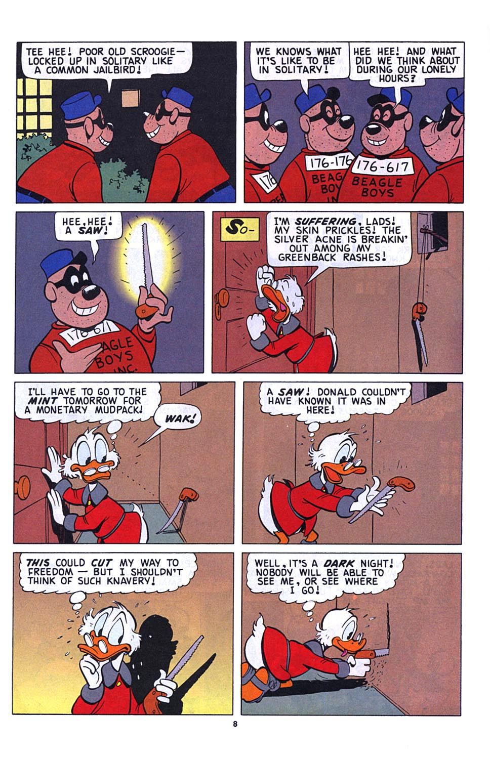 Uncle Scrooge (1953) Issue #273 #273 - English 9