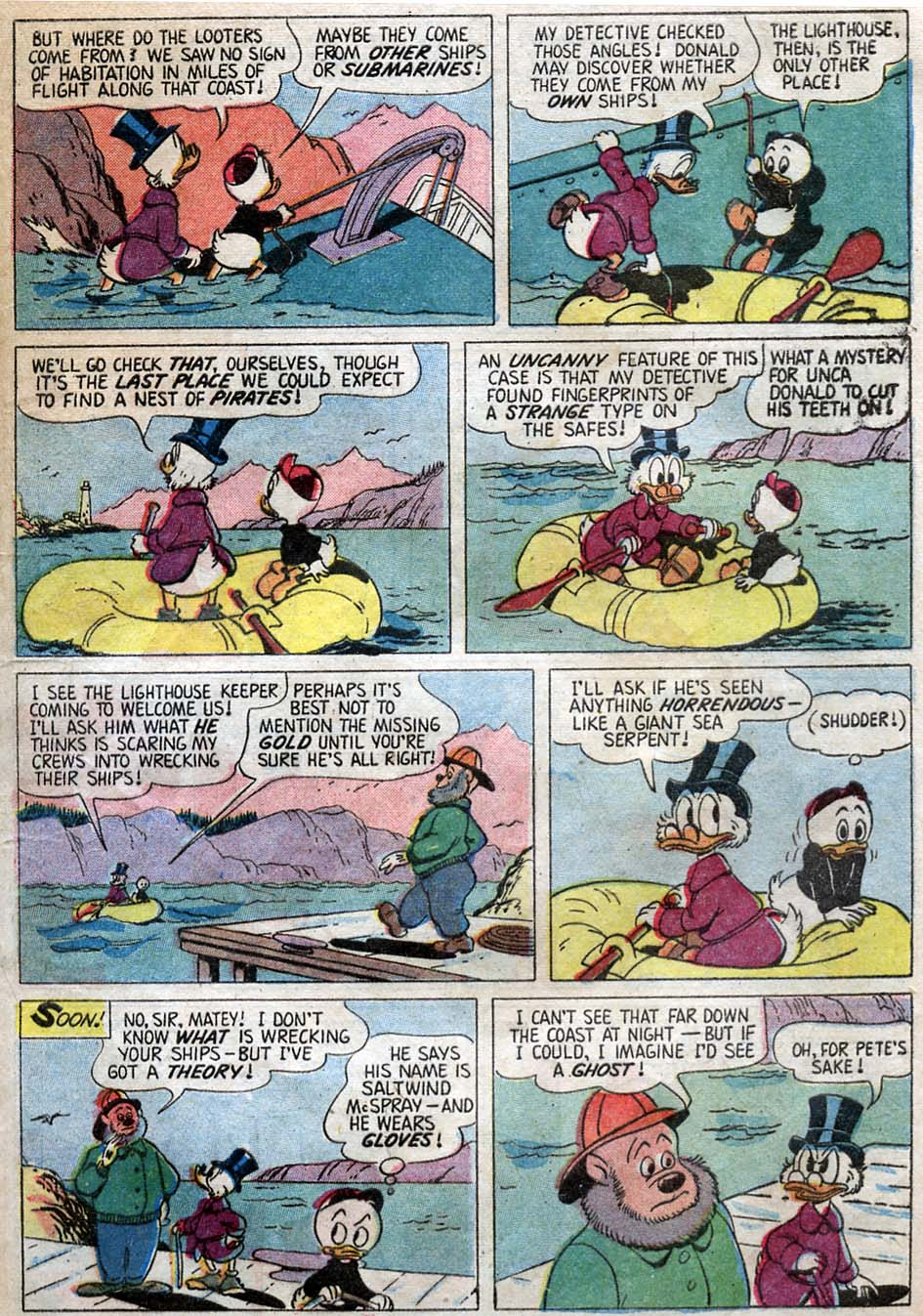 Uncle Scrooge (1953) Issue #23 #23 - English 9