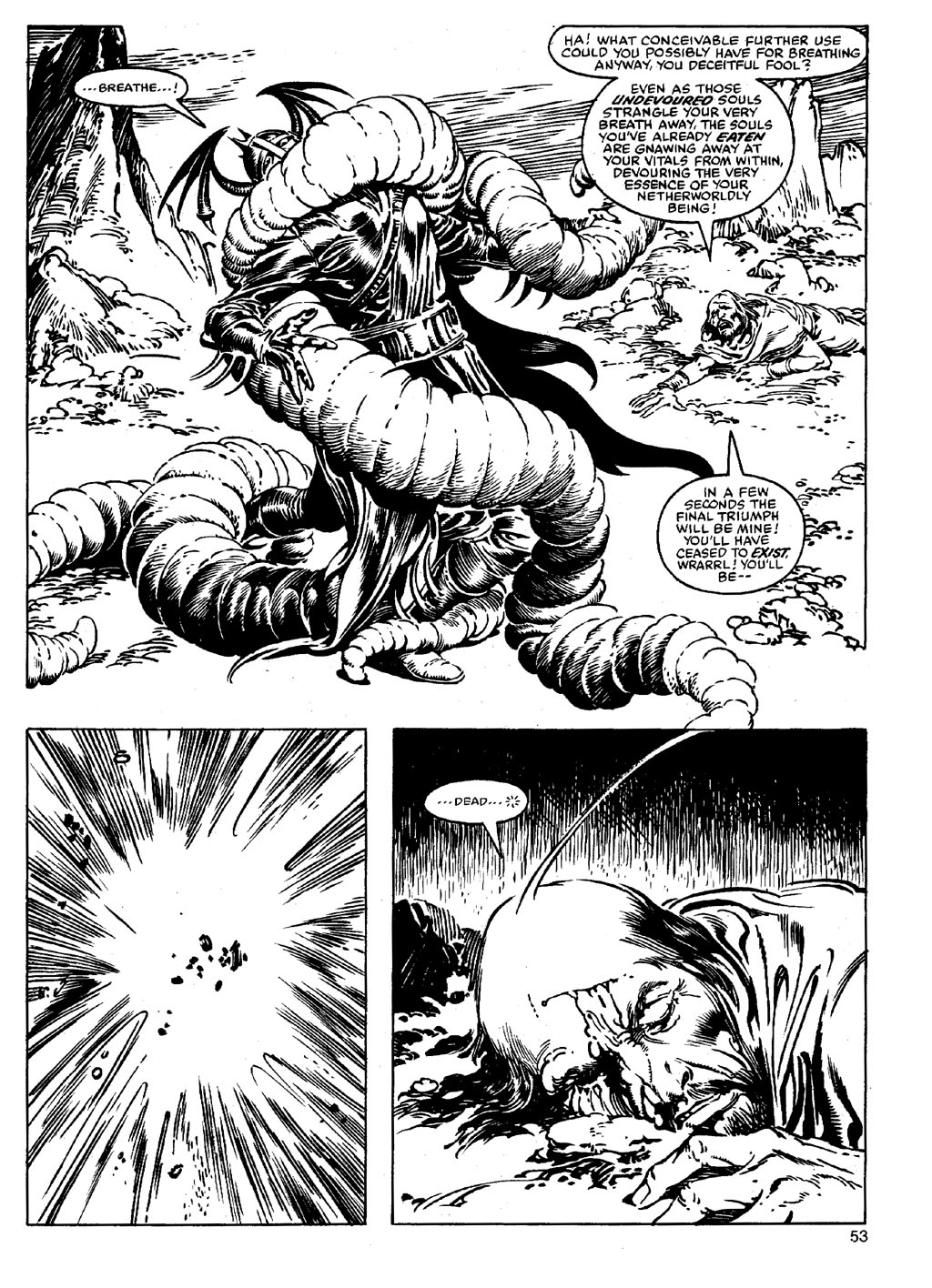 The Savage Sword Of Conan Issue #90 #91 - English 52