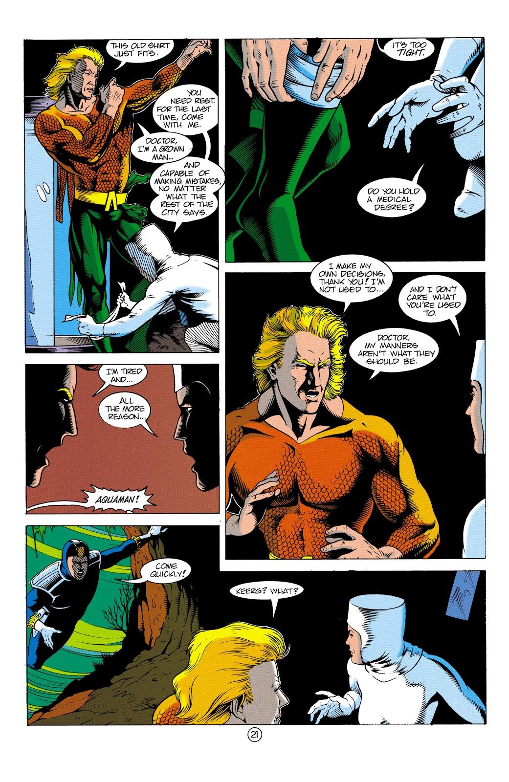 Aquaman (1991) Issue #3 #3 - English 22