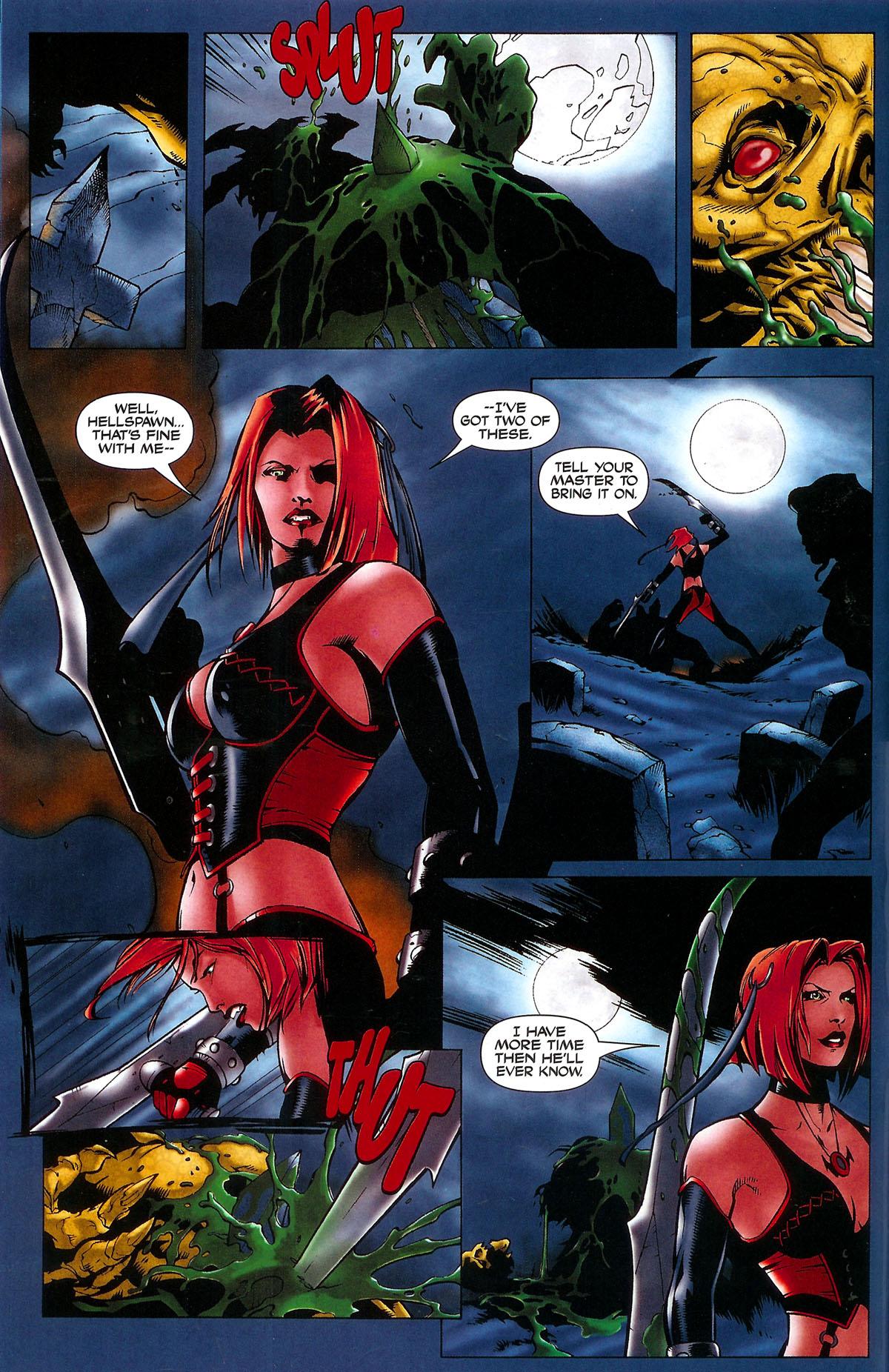 Read online BloodRayne: Dark Soul comic -  Issue # Full - 7